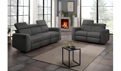 Home affaire Polstergarnitur »Sentrano«, (Set, 2 tlg.), bestehend aus dem 2- und 3... kaufen