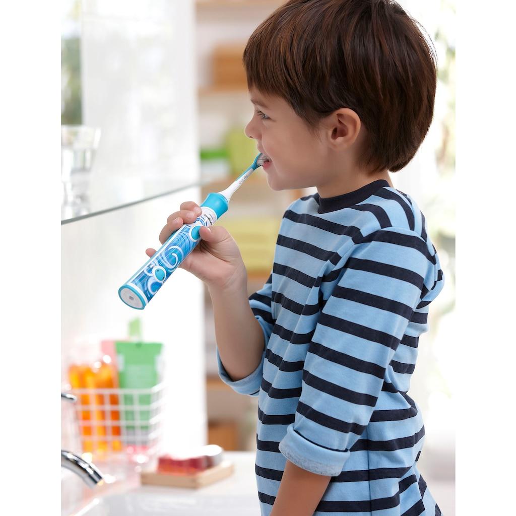 Philips Sonicare Aufsteckbürsten »HX6034/33 For Kids ab 4 -7 Jahren«