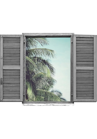 queence Wandtattoo »Palmblätter« (1 Stück) kaufen