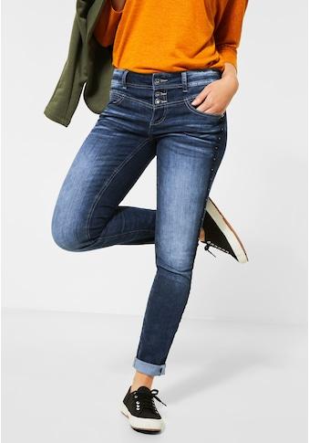 STREET ONE Comfort-fit-Jeans, aus Baumwolle mit Stretchanteil kaufen