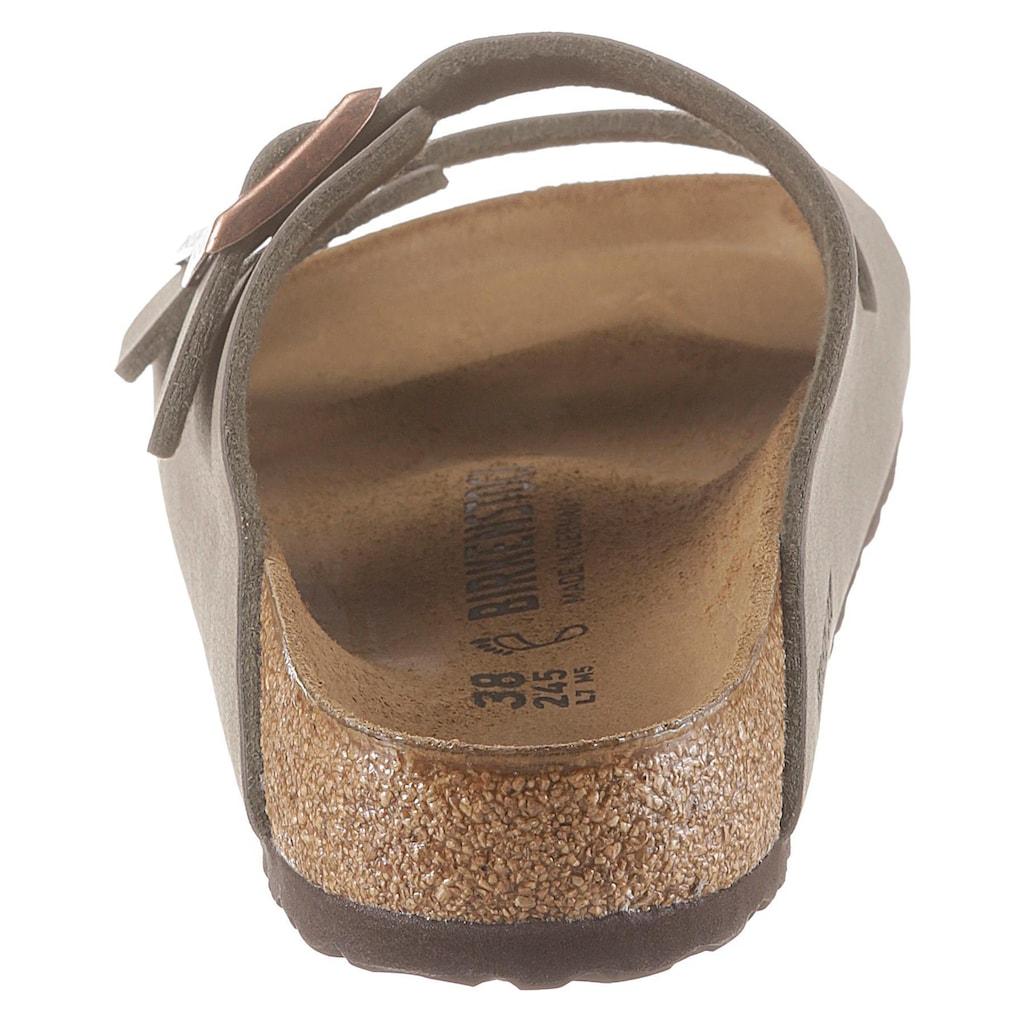 Birkenstock Pantolette »ARIZONA BF«, mit ergonomisch geformtem Fussbett