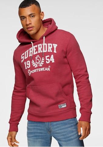 Superdry Kapuzensweatshirt »T&F HOOD« kaufen