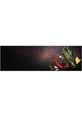 Küchenläufer, »Kitchen Spices«, Zala Living, rechteckig, Höhe 5 mm, maschinell getuftet kaufen