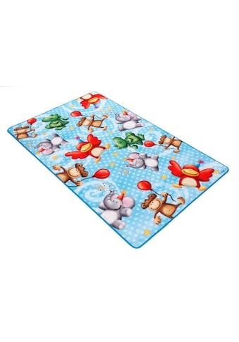 Böing Carpet Fussmatte »Lovely Kids LK-4«, rechteckig, 2 mm Höhe, Schmutzfangmatte,... kaufen