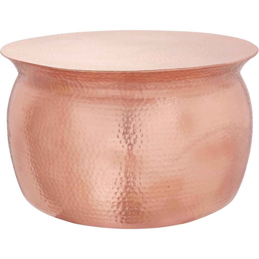 Leonique Couchtisch »Melun«, in verschiedenen Grössen erhältlich, aus Aluminium