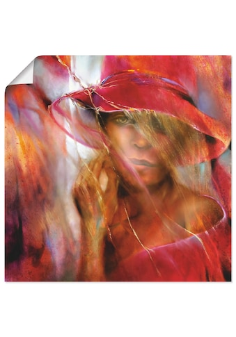 Artland Wandbild »Ella mit Hut« kaufen