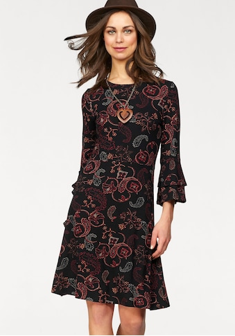 Boysen's Jerseykleid, mit Ärmel-Volants kaufen