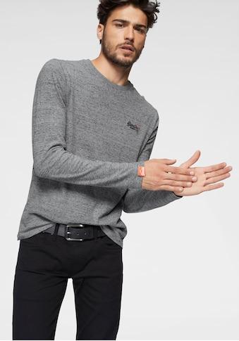Superdry Langarmshirt »ORANGE LABEL L/S VNTGE EMB TEE« kaufen