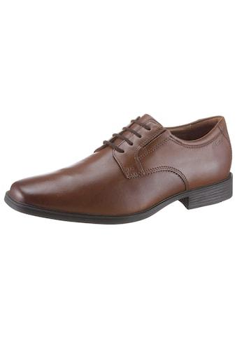 Clarks Schnürschuh »Tilden_Plain«, mit komfortablem Fussbett kaufen