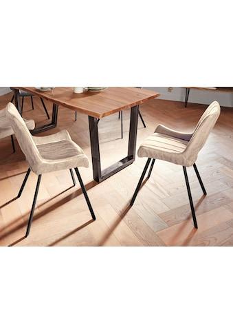 MCA furniture 4-Fussstuhl »Olympia«, 2er-Set, Stuhl belastbar bis 120 Kg kaufen