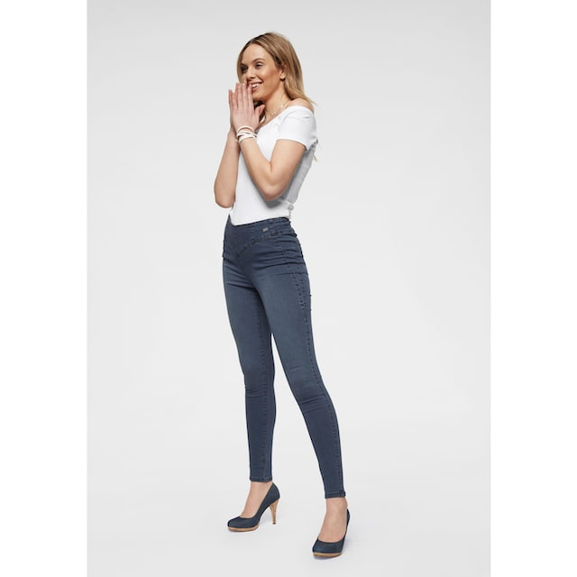 Arizona Skinny-fit-Jeans »in High Flex-Qualität«