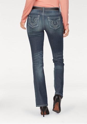 Laura Scott Bootcut-Jeans, Auch in Kurz und Langgrössen kaufen