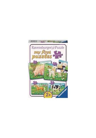 Ravensburger Puzzle »Unsere Lieblingstiere« kaufen