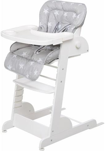 roba® Hochstuhl »Treppenhochstuhl, Chill Up, weiss«, aus Holz kaufen