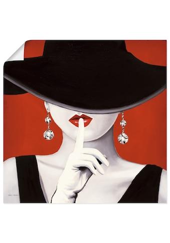 Artland Wandbild »Hut ab I« kaufen