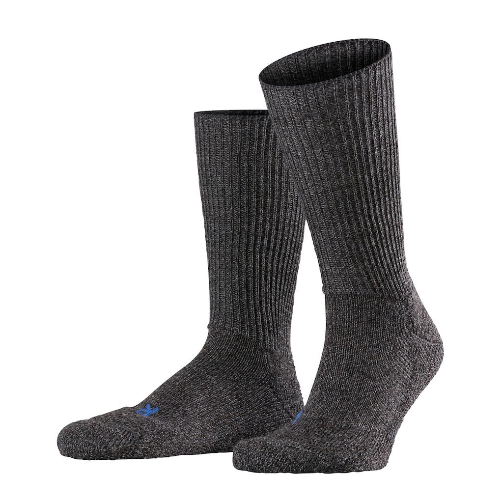 FALKE Socken »Walkie Ergo«, (1 Paar), mit ultraleichter Plüschsohle