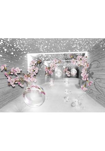 CONSALNET Vliestapete »3D Magischer Tunnel«, verschiedene Motivgrössen, für das Büro oder Wohnzimmer kaufen