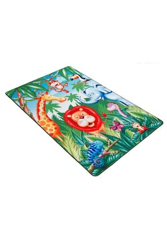 Böing Carpet Kinderteppich »Lovely Kids LK-6«, rechteckig, 2 mm Höhe, Motiv... kaufen