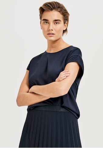 OPUS T-Shirt »Skita«, hinten mit etwas längerem, abgerundetem Saum kaufen