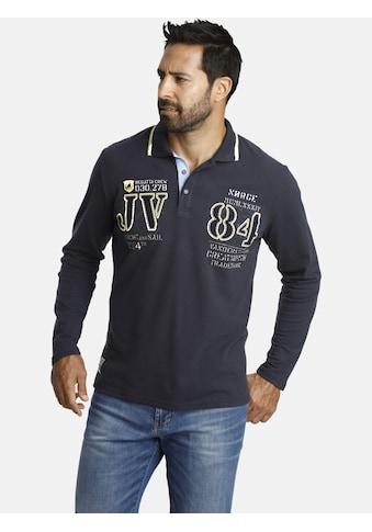 Jan Vanderstorm Langarm - Poloshirt »RADOMIR« kaufen