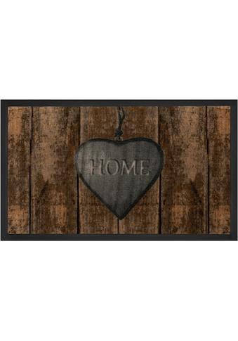 HANSE Home Fussmatte »Shabby Home«, rechteckig, 5 mm Höhe, Schmutzfangmatte, mit... kaufen
