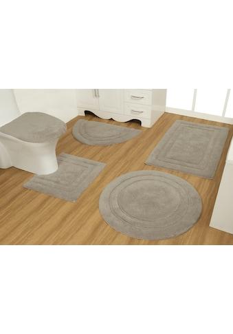 GOODproduct Badematte »Annin«, Höhe 15 mm, strapazierfähig, aus recycelter Baumwolle kaufen
