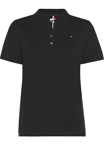 TOMMY HILFIGER Poloshirt »TH ESSENTIAL REG POLO SS«, mit Tommy Hilfiger Logo-Flag & Tommy Streifen an der Knopfleiste kaufen