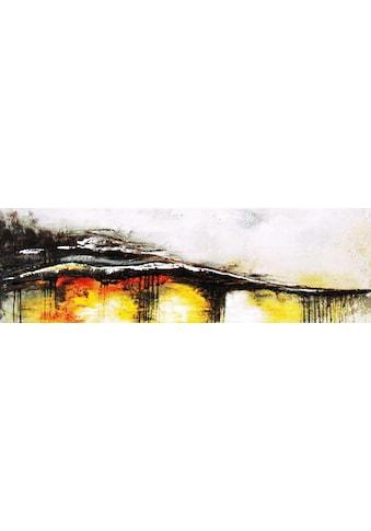 my home Gemälde »Welle«, (120/3,5/40 cm) kaufen
