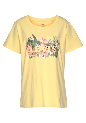 Levi's® Plus Print-Shirt »The perfect Tee«, mit tropischem Print kaufen