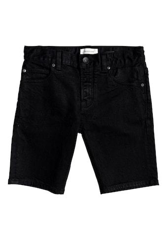 Quiksilver Jeansshorts »Killing Zone Black Black« kaufen