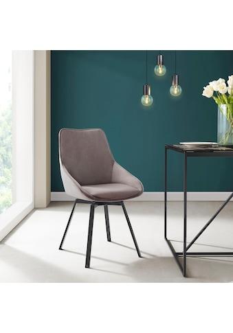 INOSIGN Esszimmerstuhl »Merisa«, 2er-Set mit gepolstertem Sitz und Rückenlehne, modernes Design, Drehbar kaufen