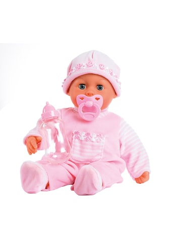Bayer Babypuppe »First Words, rosa« kaufen