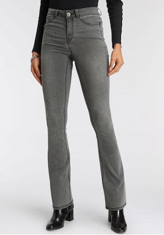 Arizona Bootcut-Jeans »Ultra Stretch«, High Waist mit Shapingnähten kaufen