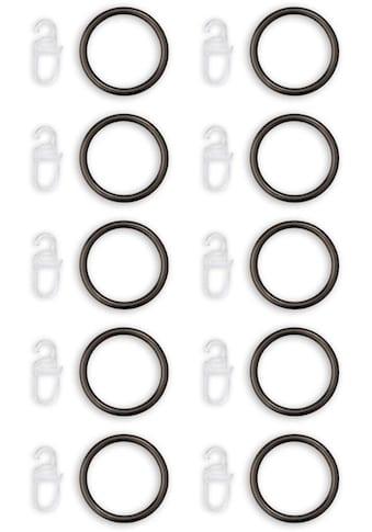 Good Life Gardinenring »ArtusNaos«, (10 St.), Gardinen-Ringe für 25mm Stange kaufen