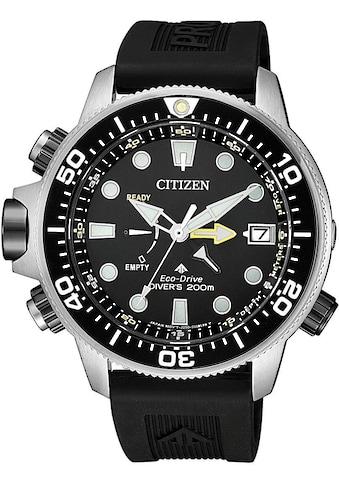 Citizen Taucheruhr »Promaster Eco-Drive Aqualand 200m, BN2036-14E«, (Set, 2 tlg., mit Verlängerungsband) kaufen
