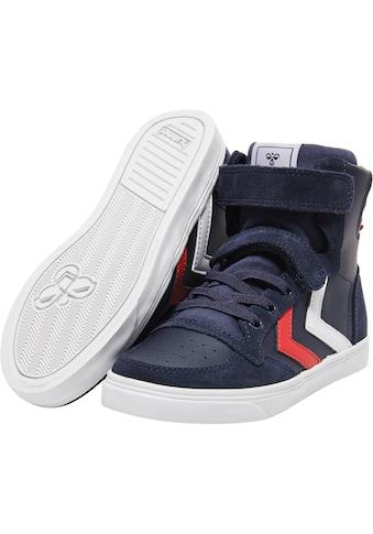 hummel Sneaker »SLIMMER STADIL LEATHER HIGH JR« kaufen