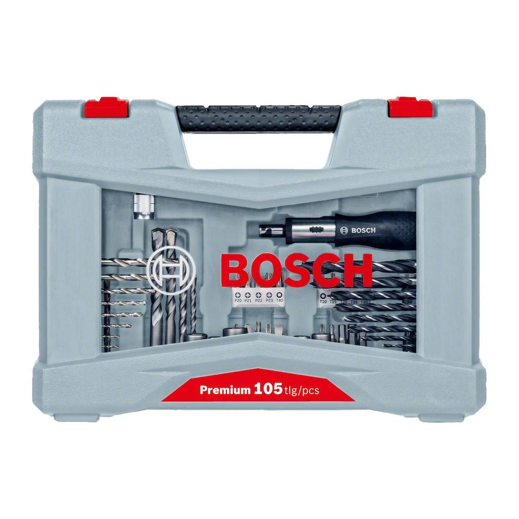 BOSCH Bohrer- und Bit-Set »Premium X-Line«, (105 tlg.)