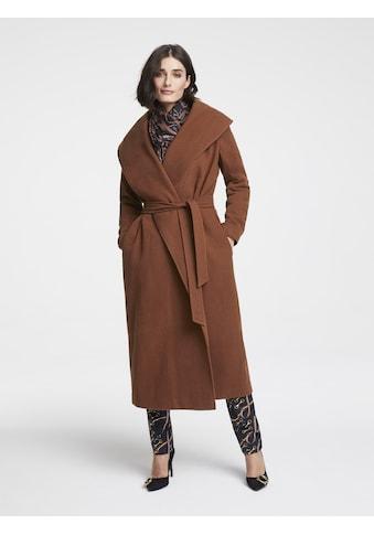 Mantel mit Wolle kaufen