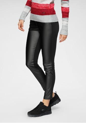 KangaROOS Leggings, mit leichter Lederoptik kaufen