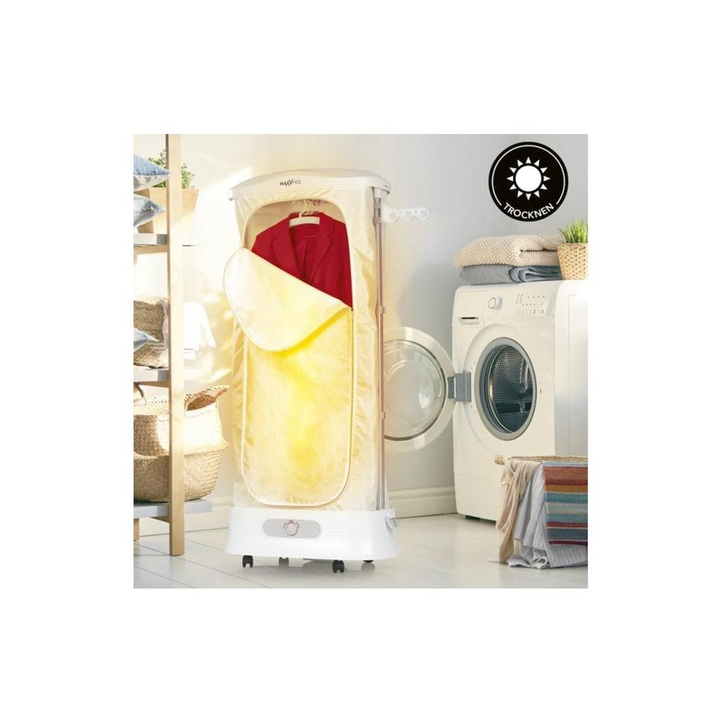 MAXXMEE Dampfbügelstation »Hemdenbügler Wäschepflege-Center 3in1 Weiss«