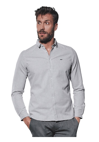 emilio adani Gemustertes Langarmhemd kaufen