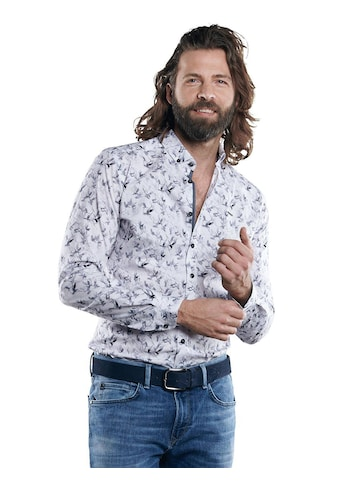 emilio adani Langarmhemd mit modischem All-Over Druck kaufen