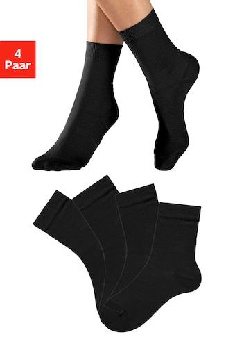 Lavana Socken, (4 Paar), in unterschiedlichen Farbzusammenstellungen kaufen