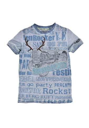 BONDI Trachtenshirt, mit coolen Statement Sprüchen kaufen