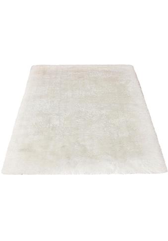 Hochflor - Teppich, »Barin«, Leonique, rechteckig, Höhe 90 mm, handgetuftet kaufen