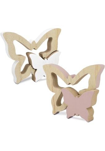 Tierfigur »Schmetterlinge«, aus Holz kaufen