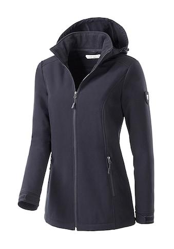 Casual Looks  Softshelljacke mit Innenseite aus wärmendem Fleece kaufen