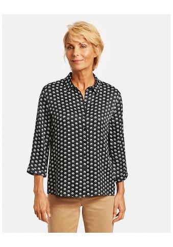 GERRY WEBER Schlupfbluse »3/4 Arm Bluse mit Kringelprint« kaufen