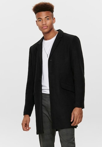 ONLY & SONS Wollmantel »JULIAN SOLID WOOL COAT« kaufen