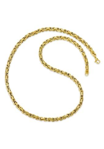 Collier Edelstahl vergoldfarbenet 60 cm kaufen